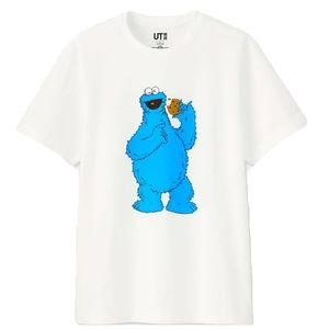 Uniqlo x Kaws Sesame Street Cookie Monster T-Shirt